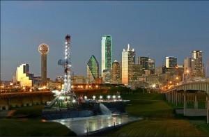 Drilling in Dallas - Evening