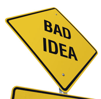 bad idea sign downwinders at risk. Black Bedroom Furniture Sets. Home Design Ideas