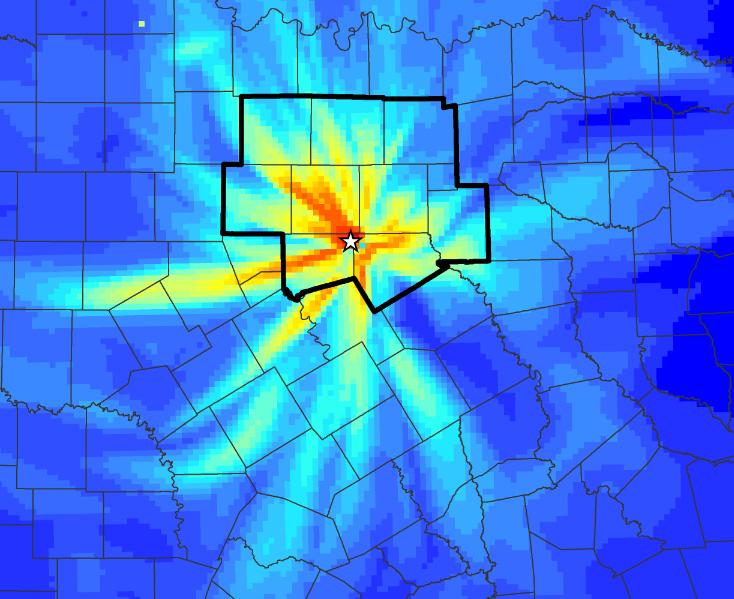 90 kiln max impact map