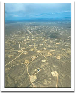 Wyoming Gas Field