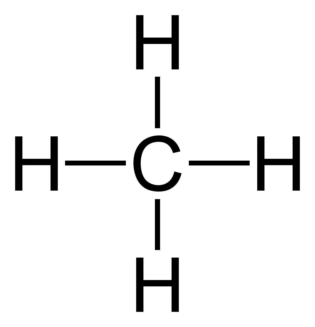 methane chemical structure copy  u2014 downwinders at risk