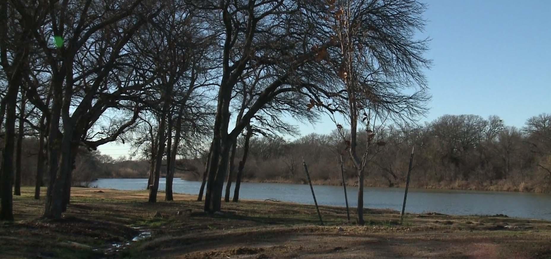 Trinity River wasteland