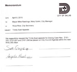 Hunt Griggs Memorandum