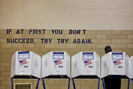 """""""If at first...""""voting"""