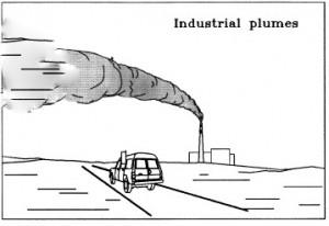 Industrial Plumes illustration