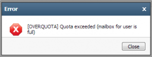 MailBoxOverQuota_Error