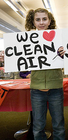 kids want clean air