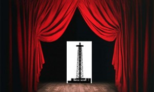 Curtain rising - or falling on drilling rig