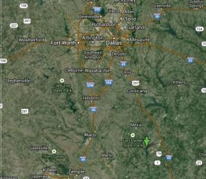 East Texas Gas Field Long shot