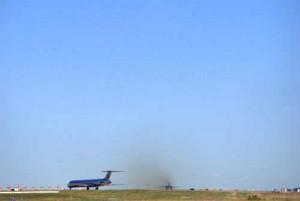 Jet pollution