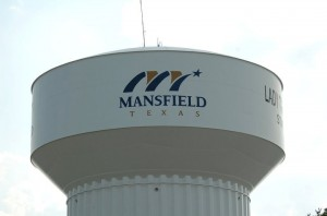 Mansfield Water tower