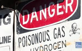 Hydrogen Sulfide sign