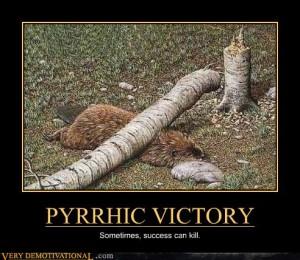 pyhrric-victory