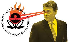 rick Perry Lasers Eyes Burn EPA