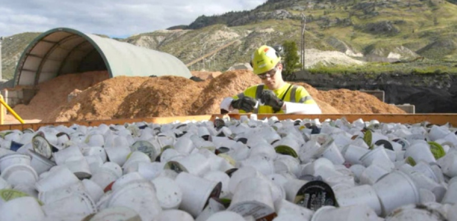 K-Cups as waste for kilns