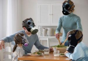 Family of gasmasks copy
