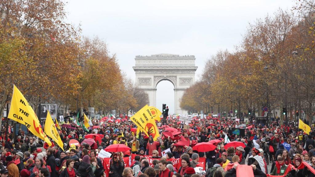 Paris-Protests