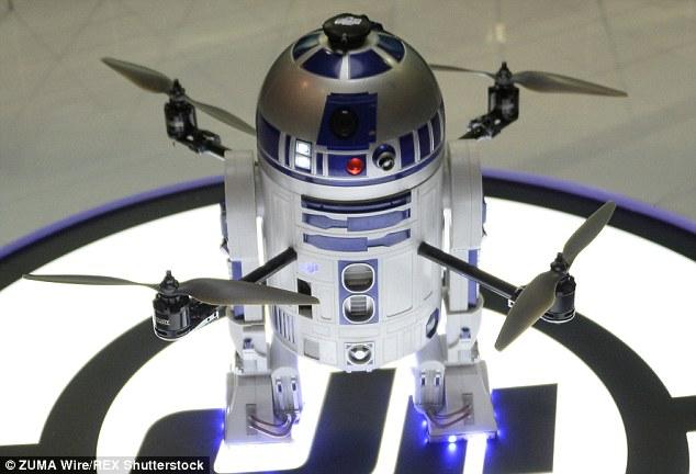 R2D2 Drone