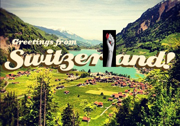 Greetings From Switzerland - Fist