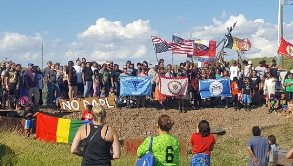 Dakota pipeline protest 2